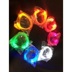 Bracelet lumineux transparent