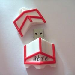 Clé USB Ville de Sète en...