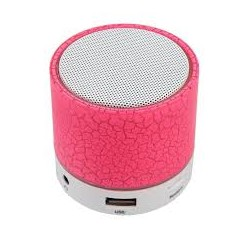 Enceinte Bluetooth rose
